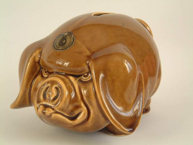 Pottery Piggy Banks Are Lucky In 2019